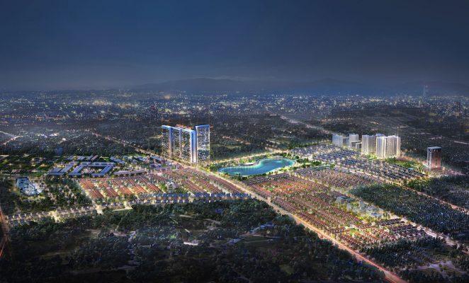 Biệt thự An Vượng Villa khu đô thị mới Dương Nội