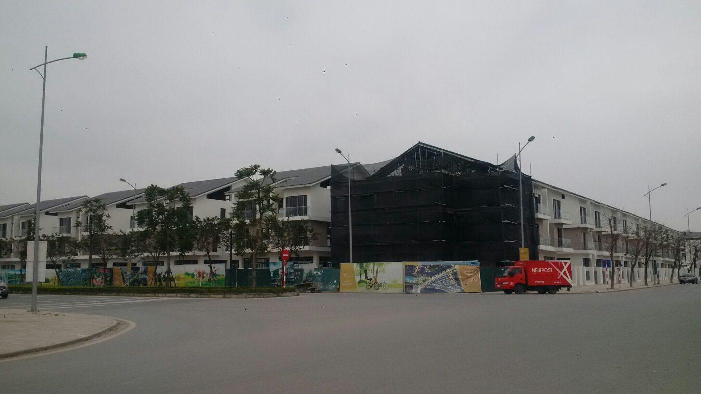 Tiến độ xây dựng biệt thự An Vượng Villa